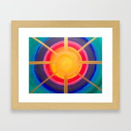 Sun Activation Framed Art Print