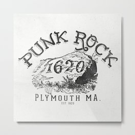 Punk Rock Plymouth Ma. Metal Print