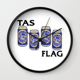Cascade Lager - Breakfast of Champions Wall Clock