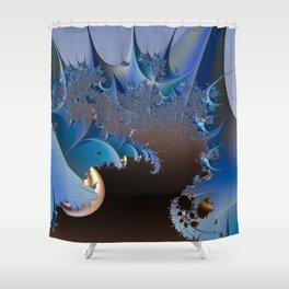 Dangerous phenomenon Shower Curtain