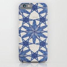 Delft snowflake iPhone 6s Slim Case