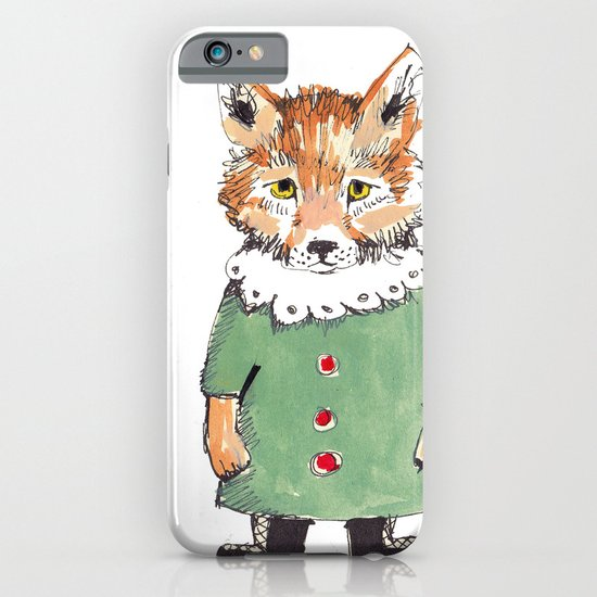 Bear Fox iPhone & iPod Case