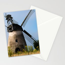 North German windmill from old time Stationery Cards