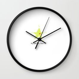 Fan's little positive energy - My little star,Cheer Up! Wall Clock