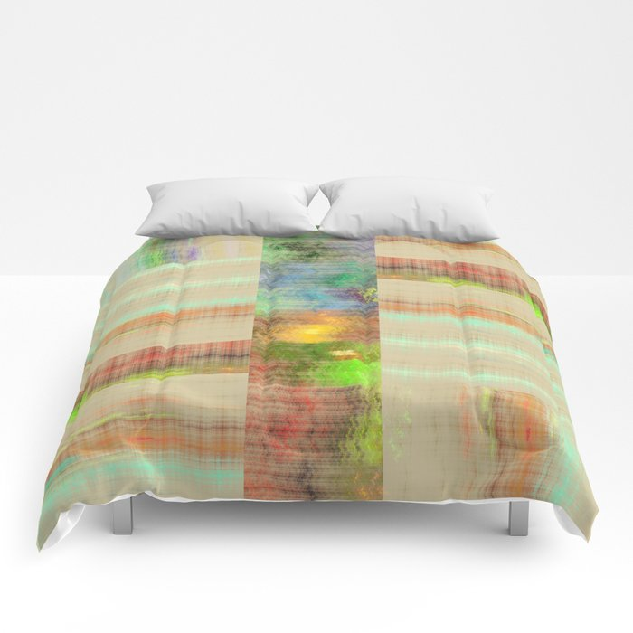 Abstract Pattern 5 Comforters
