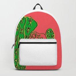 Green CactEye Backpack