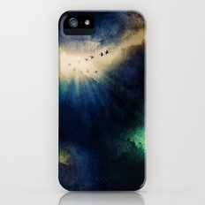 Tormenta negra. iPhone (5, 5s) Slim Case