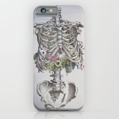 Floral Anatomy Skeleton iPhone 6 Slim Case