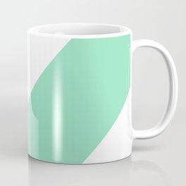 Chevron (Mint & White) Coffee Mug