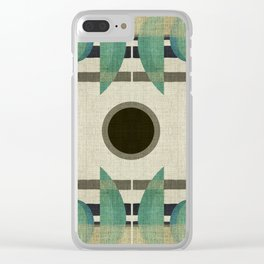 """Abstract Ships at the Sea"" Clear iPhone Case"