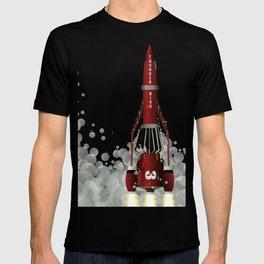 Thunderbird 3 Rocket Launch T-shirt