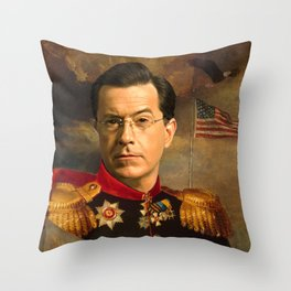 Stephen Colbert 19th Century Classical Painting Throw Pillow