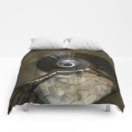 Circles and spirals Comforters