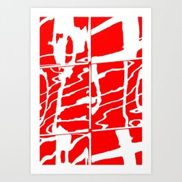 City Reflection (1) Art Print