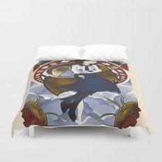 Lamb of Columbia Duvet Cover