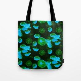 Green Jellyfish Tote Bag