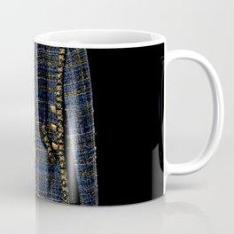 coco vintage blue and gold jacket Coffee Mug