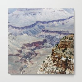View into the Grand Canyon, South Rim Metal Print
