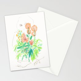 Flower flower Stationery Cards