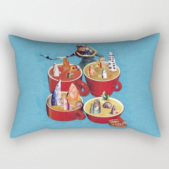 Fish Soup Rectangular Pillow
