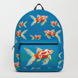 Comet tail goldfish Backpack