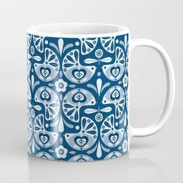 Pigeons - Swedish Modern Folk Art Coffee Mug
