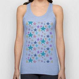 Colourful Stars Unisex Tank Top
