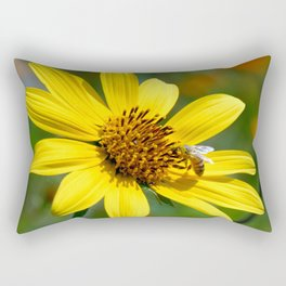 Pollination Rectangular Pillow