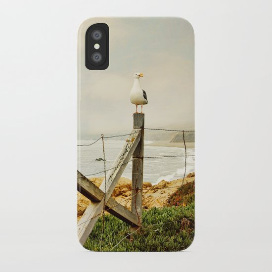 standing guard iPhone Case
