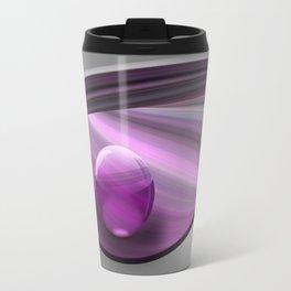 Lilac Ball  Travel Mug