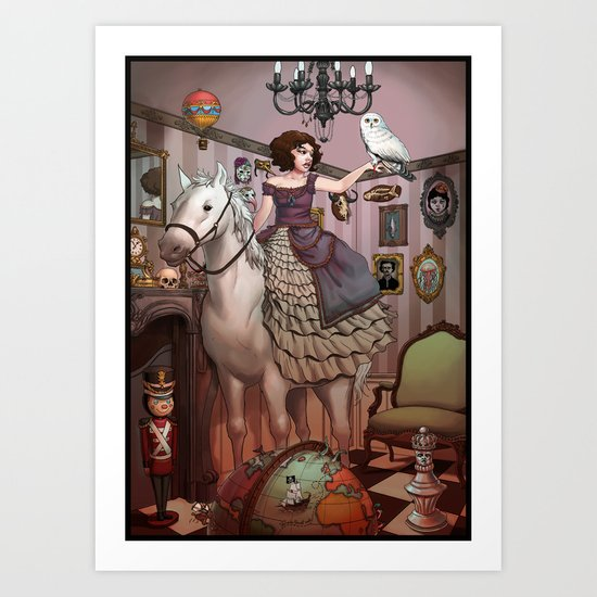 The Victorian Room Art Print