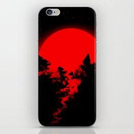 Bleeding Sun iPhone Skin