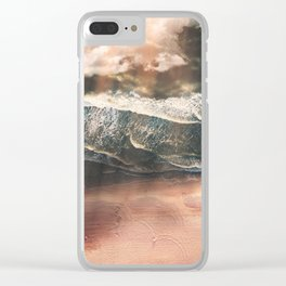Rustic sea Clear iPhone Case