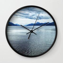 Loch Ness Scotland Wall Clock