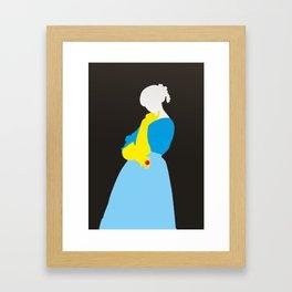 Pop Portrait · Ingres 1 Framed Art Print