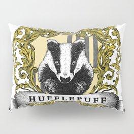 Hufflepuff Color Crest Pillow Sham