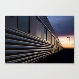 The VIA Rail Canadian Canvas Print