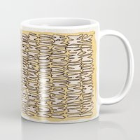 teeth Mugs featuring Teeth by Jason Covert
