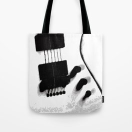 Guitar Iceman Tote Bag