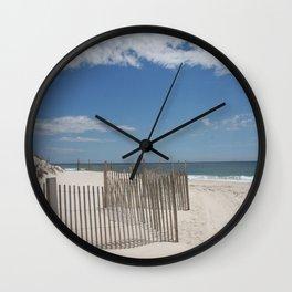 Long Island Beach Wall Clock