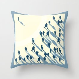 A- Loner Throw Pillow
