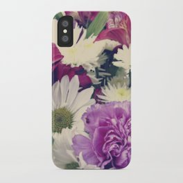Timeless {Flower Floral Photography} iPhone Case