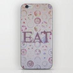 Eat iPhone & iPod Skin