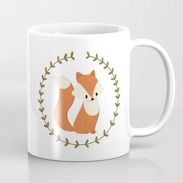 Renard roux // Red fox Coffee Mug