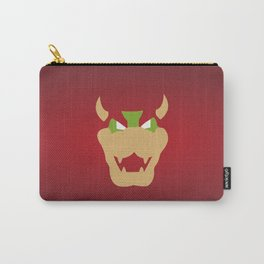 Bowser, enemy Mario cartoon Carry-All Pouch