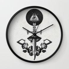 Drawing Down the Moon Wall Clock