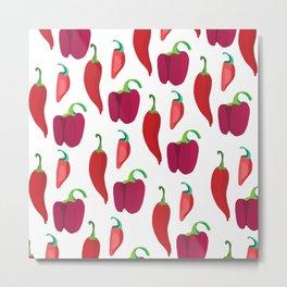 Sweet Pepper Metal Print