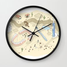 Dental Artifacts Wall Clock