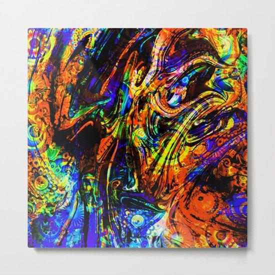 abstract waves ii Metal Print