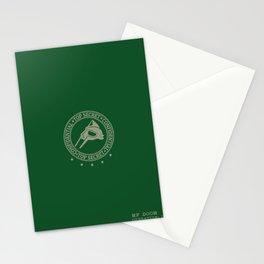 MF Doom - ˢᵗᵉᵛᵉ ᴼⁿ ᵀʰᵉ ᴮᵉᵃᶜʰ Daniel-Dumile - Hip-Hop Green Stationery Cards